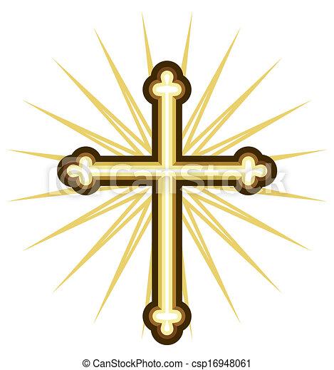 Golden cross - csp16948061