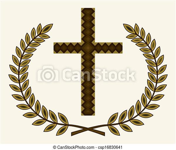 Golden cross - csp16830641