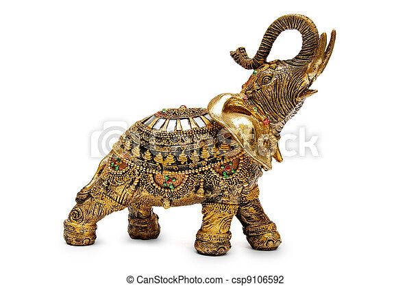 Golden elephant - csp9106592
