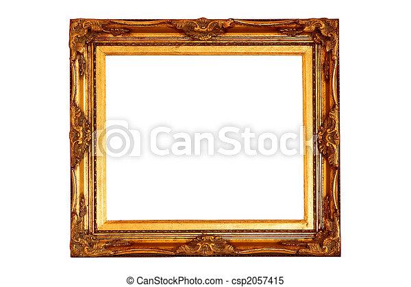 Golden frame - csp2057415