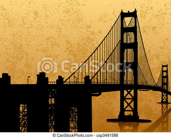 Golden Gate Bridge - csp3491586