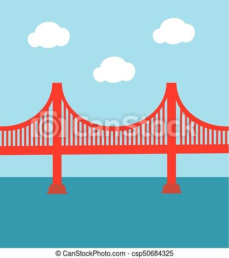 Golden Gate Bridge - csp50684325