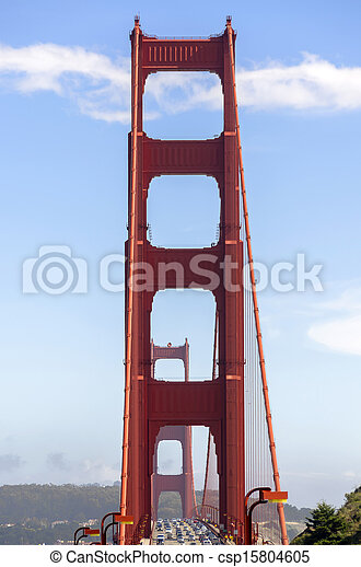 Golden Gate Bridge in San Francisco - csp15804605