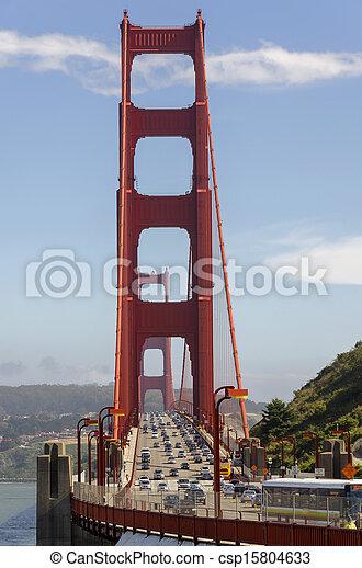 Golden Gate Bridge in San Francisco - csp15804633