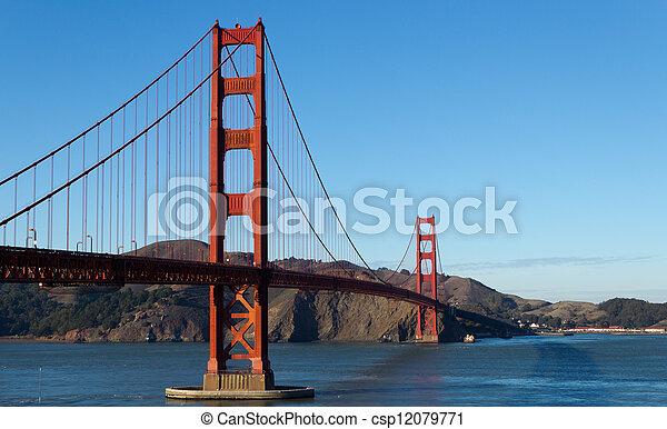 Golden Gate Bridge  - csp12079771