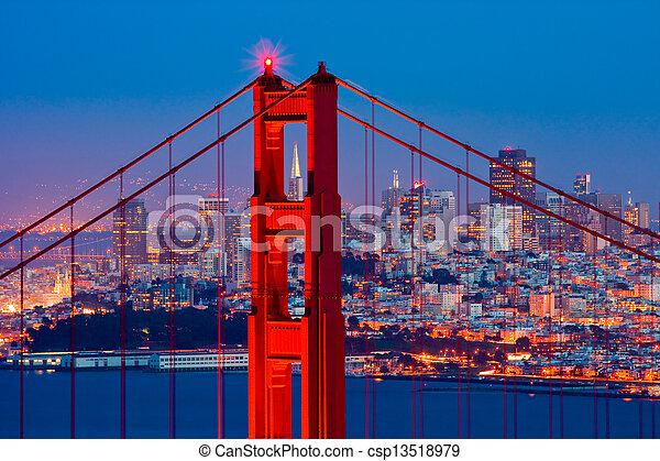 Golden Gate Bridge  - csp13518979