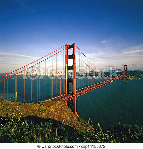 Golden Gate Bridge - csp14155372