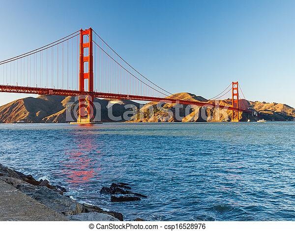Golden Gate Bridge - csp16528976