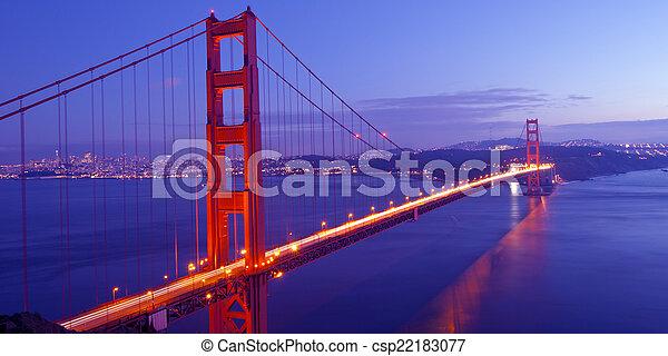 Golden Gate Bridge - csp22183077