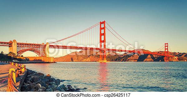 Golden Gate Bridge - csp26425117