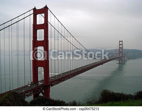 Golden Gate Bridge  - csp26475213