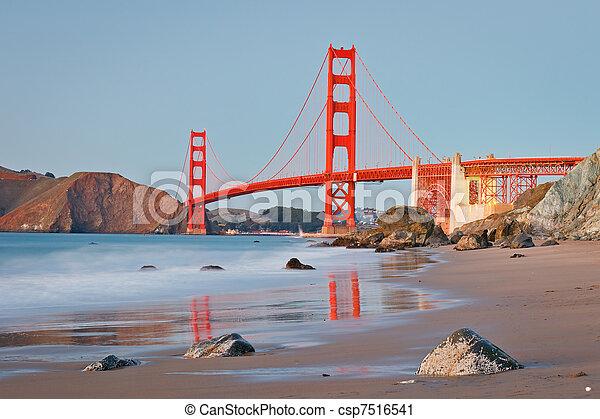 Golden Gate bridge - csp7516541
