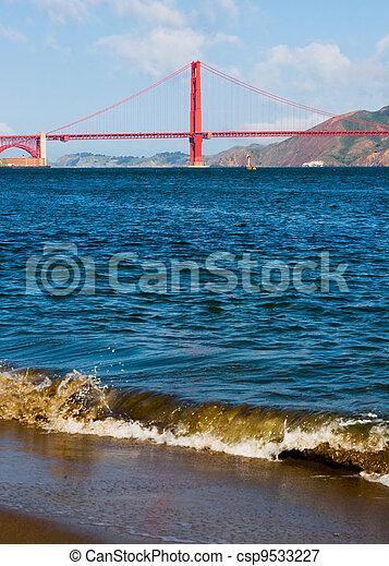 Golden Gate Bridge - csp9533227