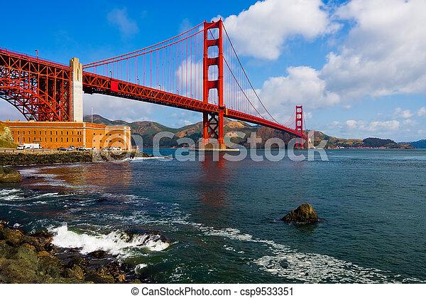 Golden Gate Bridge - csp9533351