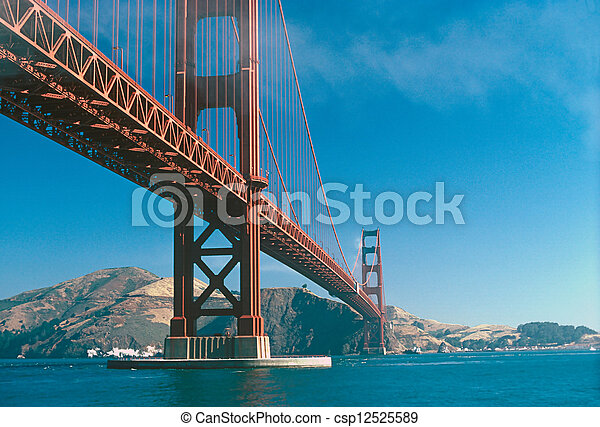 Golden Gate Bridge - csp12525589