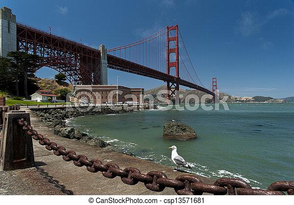 Golden Gate Bridge - csp13571681