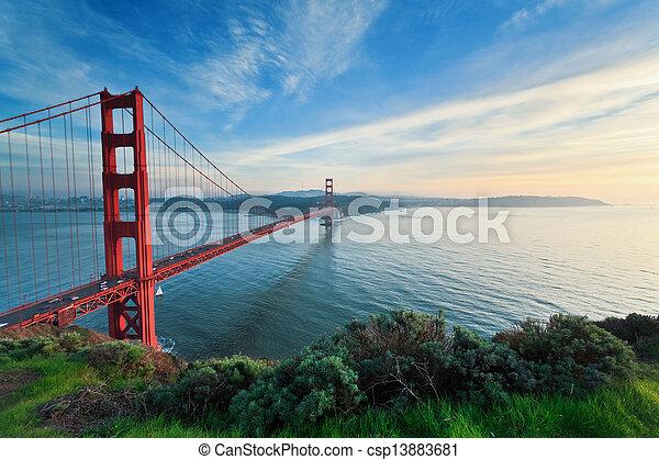 Golden Gate Bridge - csp13883681