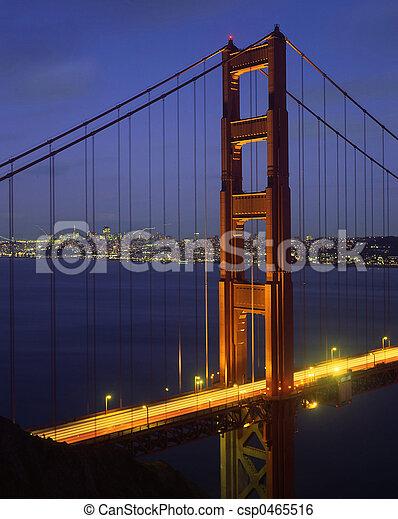 Golden Gate Bridge - csp0465516