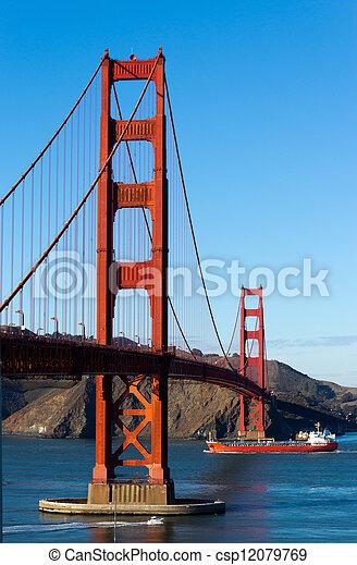 Golden Gate Bridge  - csp12079769