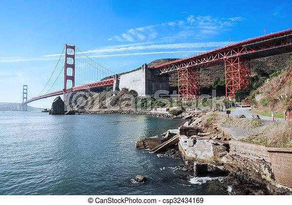 golden gate bridge - csp32434169