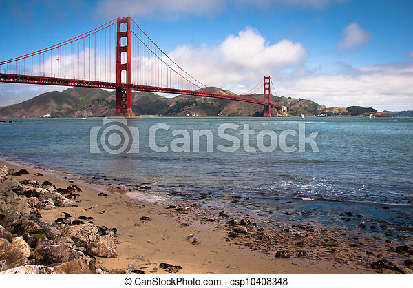 Golden Gate Bridge - csp10408348