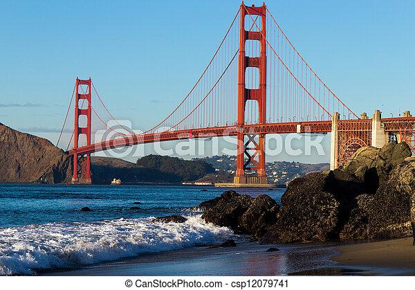 Golden Gate Bridge  - csp12079741