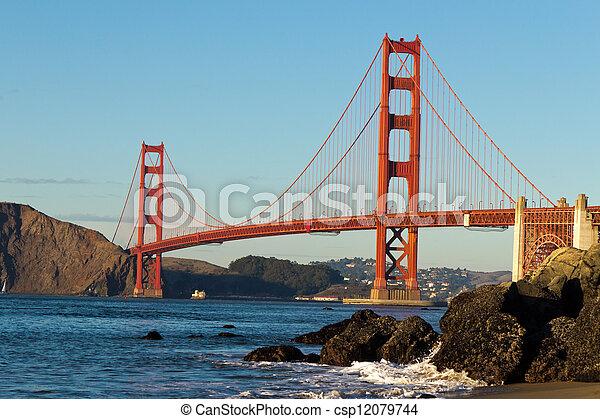 Golden Gate Bridge  - csp12079744
