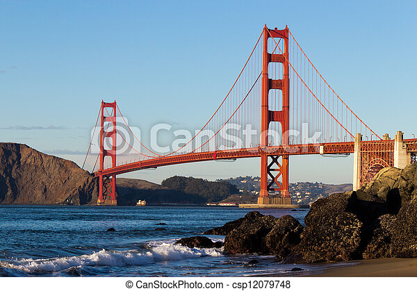 Golden Gate Bridge  - csp12079748