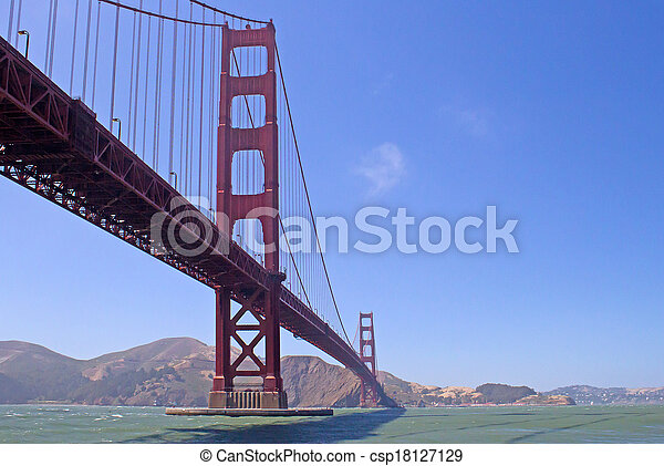 golden gate bridge - csp18127129