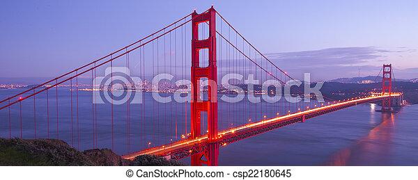 Golden Gate Bridge - csp22180645