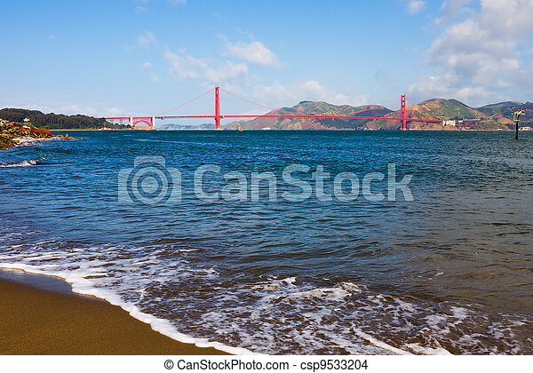 Golden Gate Bridge - csp9533204