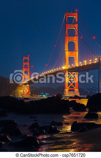 Golden Gate bridge - csp7651720