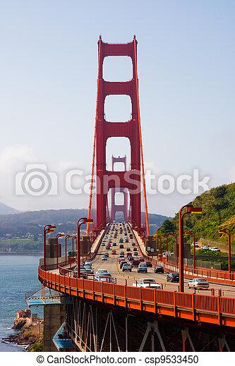 Golden Gate Bridge - csp9533450