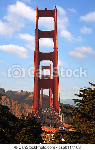 Golden Gate bridge - csp0114103