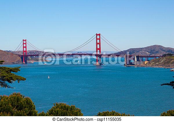 Golden Gate Bridge  - csp11155035