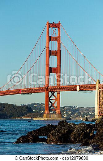 Golden Gate Bridge  - csp12079630