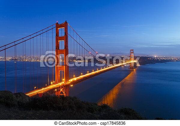 Golden Gate Bridge - csp17845836
