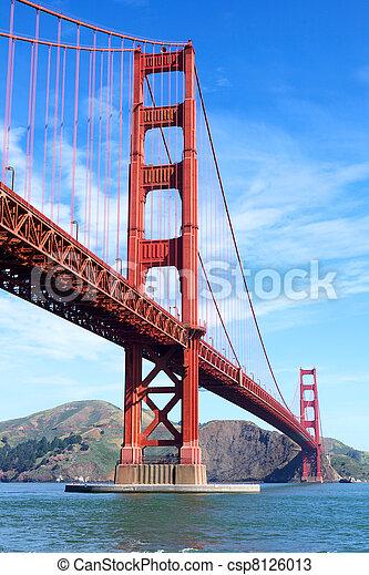 Golden Gate Bridge  - csp8126013