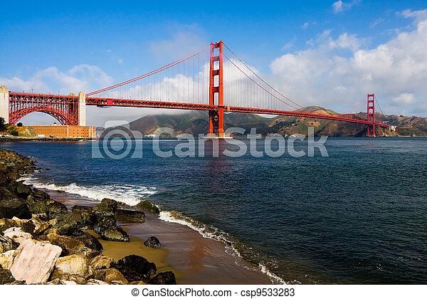 Golden Gate Bridge  - csp9533283