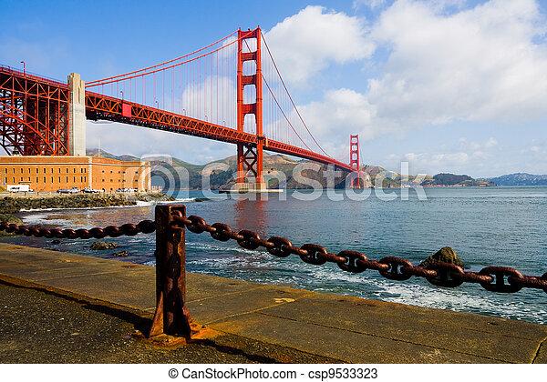 Golden Gate Bridge  - csp9533323