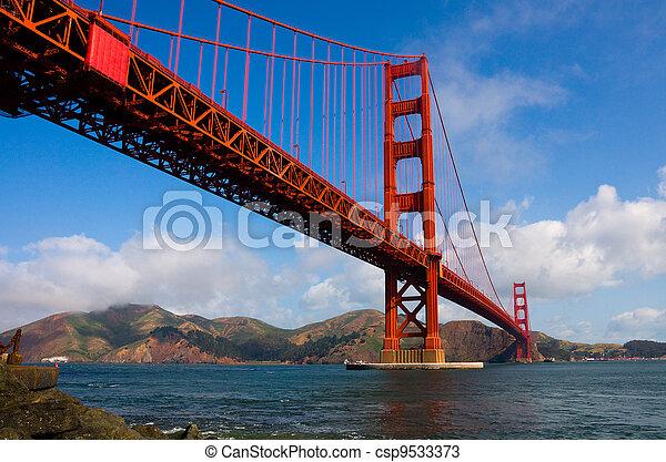 Golden Gate Bridge  - csp9533373