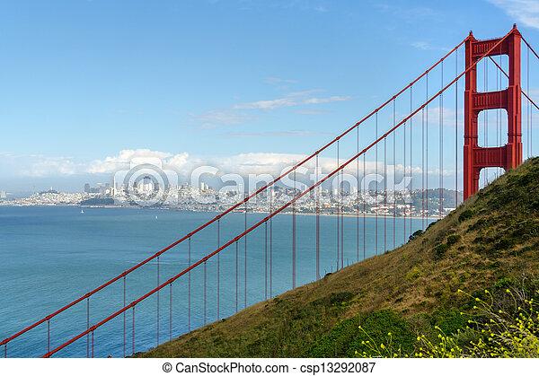 Golden Gate in San Francisco - csp13292087