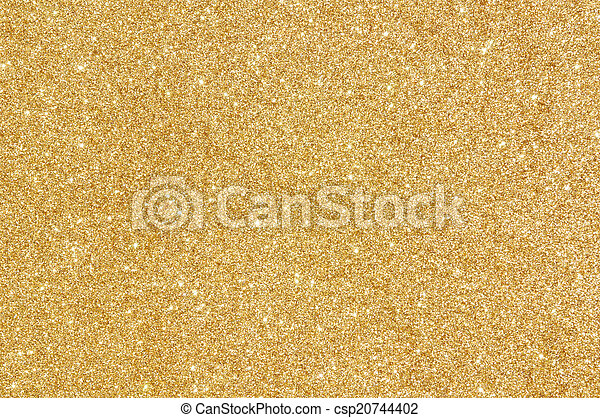 golden glitter texture background - csp20744402
