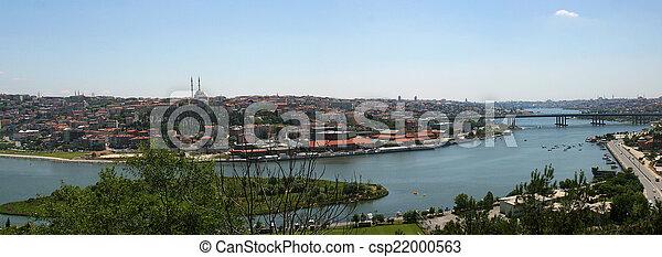 Golden Horn Istanbul - csp22000563