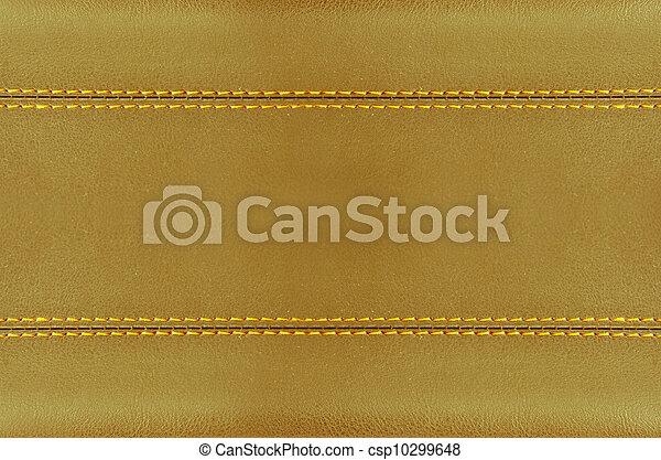 golden leather art - csp10299648