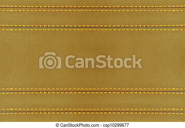 Golden Leather Wallpaper Horizontal Stitched