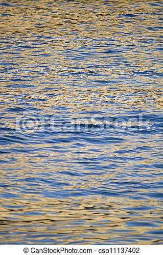 golden ocean water - csp11137402