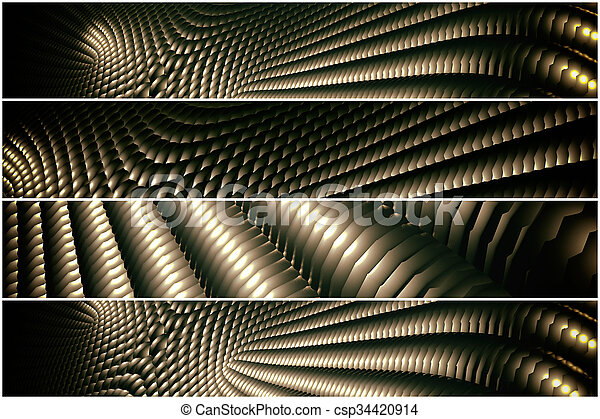 golden pattern - 4 divider - csp34420914