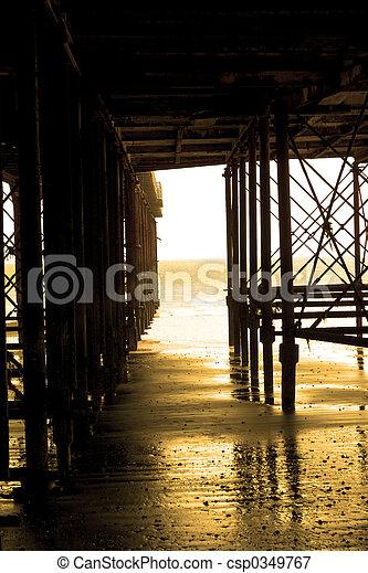 Golden Pier - csp0349767