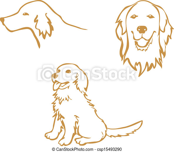 Labrador Clip Art Vector Graphics 3 675 Labrador Eps Clipart Vector